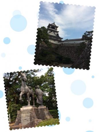 高知城まで、あと少し!