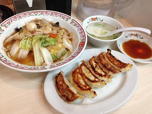 中華飯&餃子