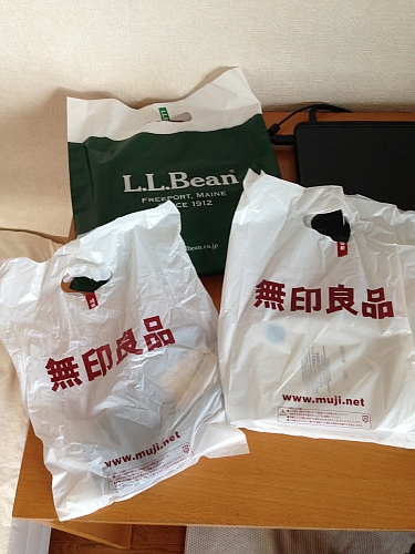 L.L.Bean と無印