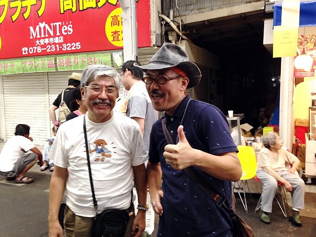 2014.7.26 二宮市場の夏祭りと大安亭市場の納涼夜店大会に行ったよ♪