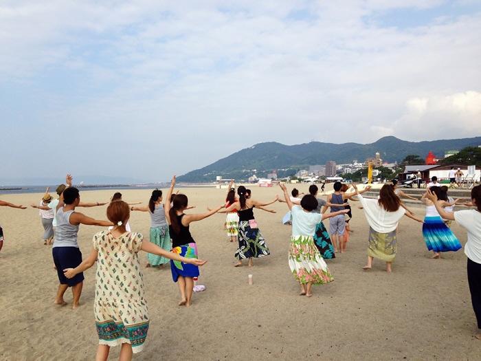 2014.7.27 日曜日のモーニングフラレッスン♪ この夏も参加しますヽ(^o^)丿