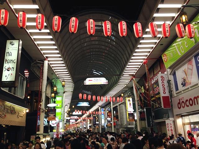 2014.7.29 元町夜市にちょっとだけ寄ってきたのですわ(^^♪
