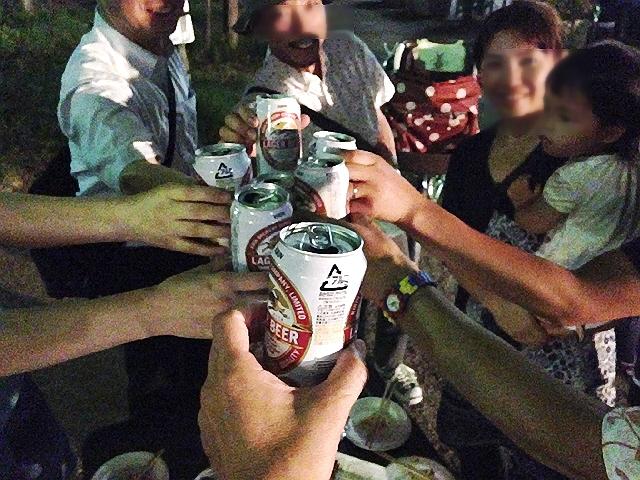 2014.8.1 神戸ナイトピクニック(商店街お好きに立ち呑み☆)プレイベント♪@菅原市場