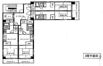 サンテラス木場3F平面図_R