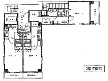 サンテラス木場2F平面図_R