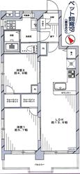 上池台ヒミコマンション601号間取り図_R