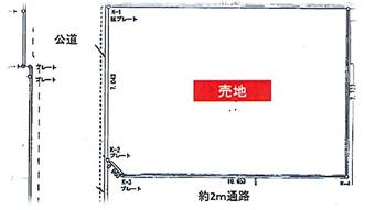 大井5丁目<27-1>敷地図>_R