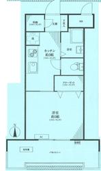 パラスト大森6階部分間取り図_R