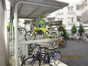 アクア武蔵新田駐輪場_R