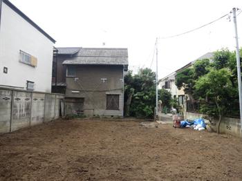 大井5丁目赤羽邸更地2014・6・30・2_R