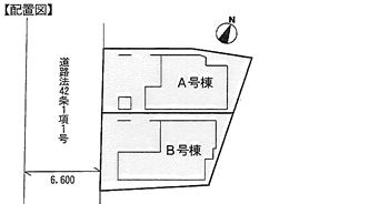 西大井6丁目新築戸建配置図_R
