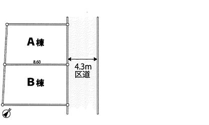 荏原2丁目新築戸建区割り図_R
