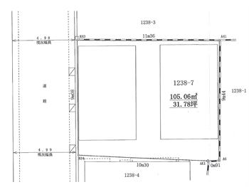 西品川1丁目測量図_R