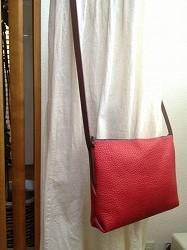 赤のシャルダーバッグ 1