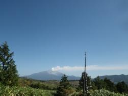 今日最初の御嶽山