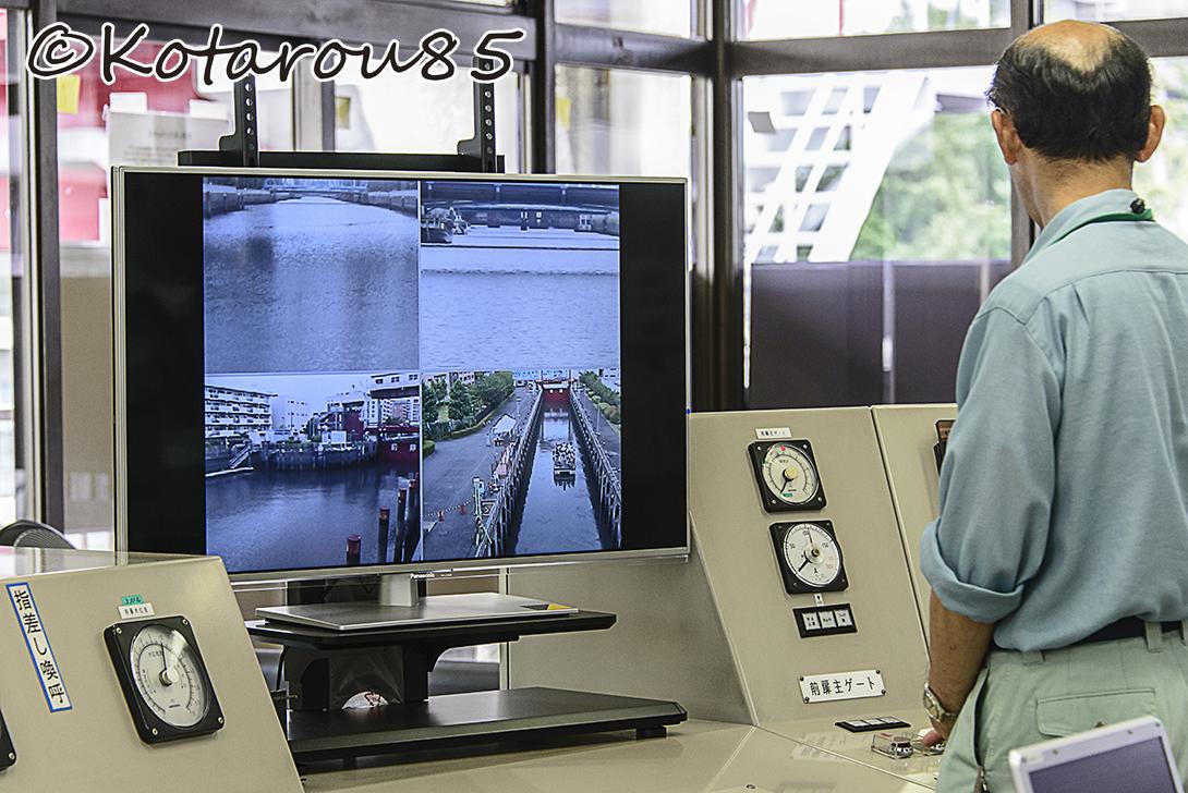 扇橋閘門 指令室1 20140810