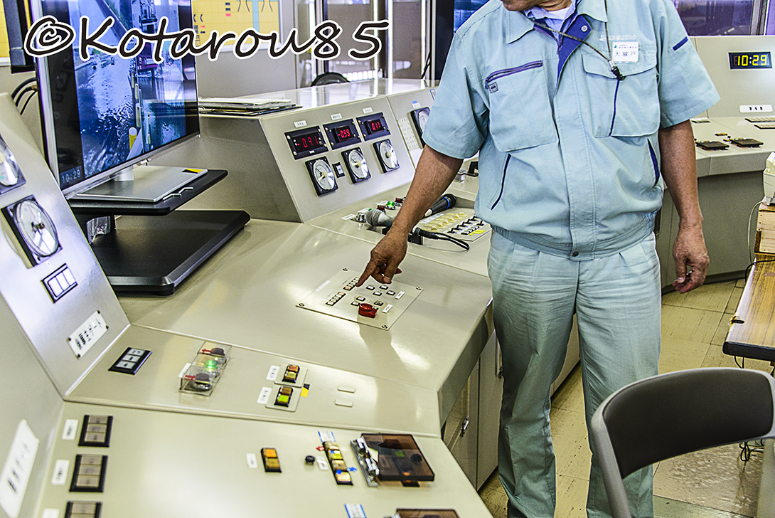 扇橋閘門 指令室 8 20140810