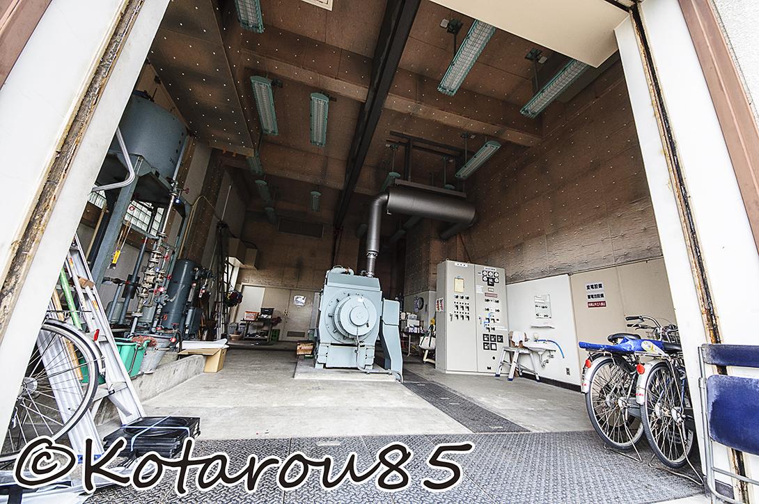 扇橋閘門 非常用電源 20140810