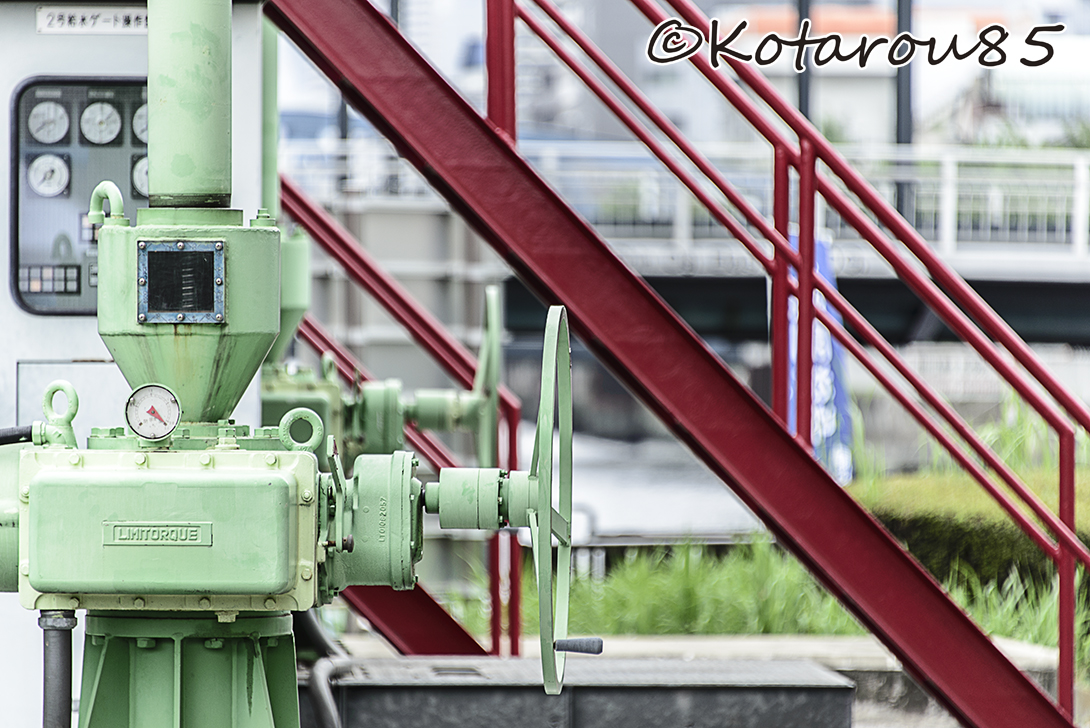 扇橋閘門 風景1 20140810