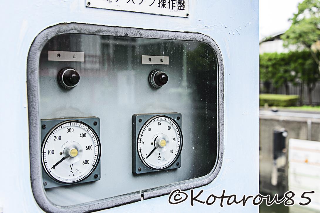 扇橋閘門 計器類 20140810