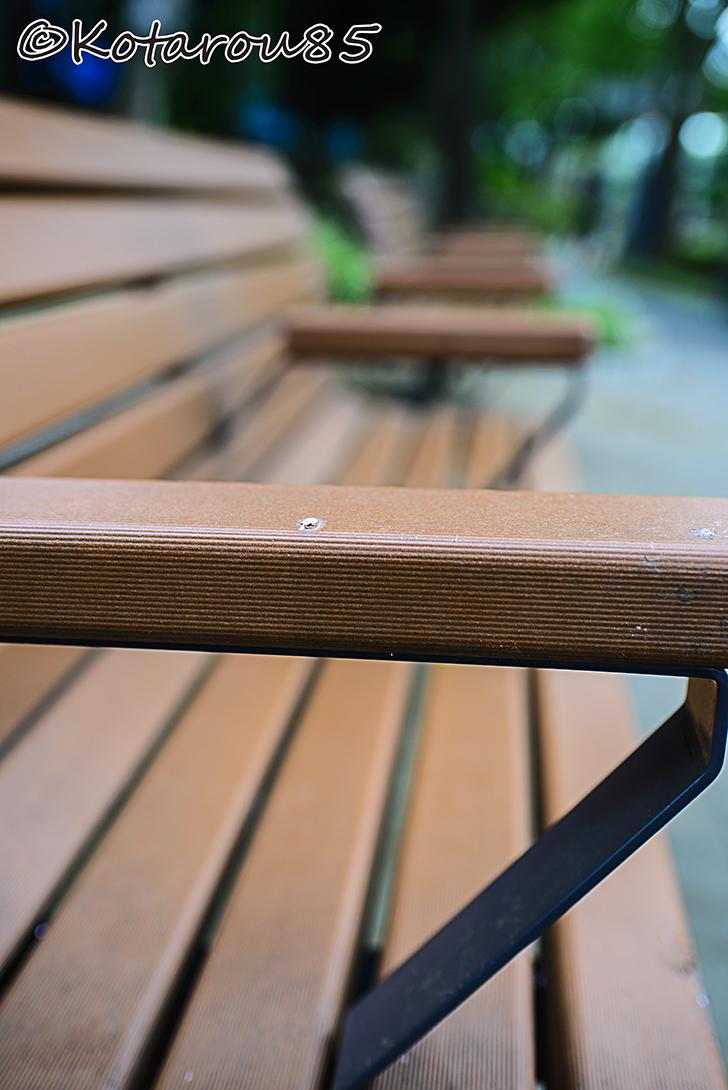 公園ベンチ 20140812