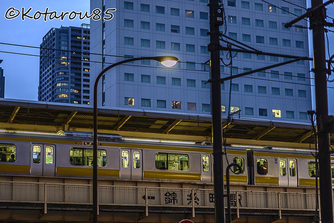 錦糸町 電車 20140826