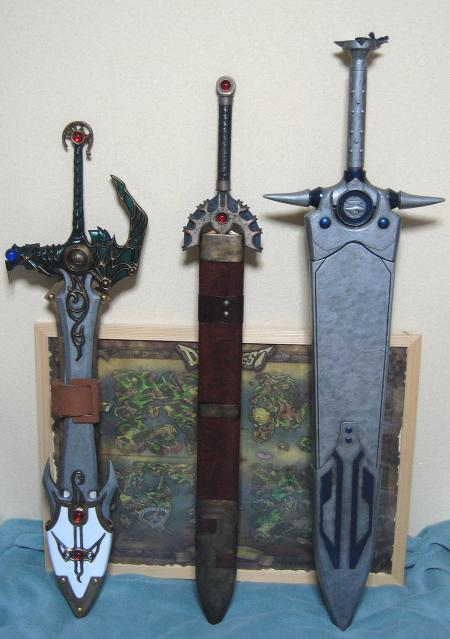 W様 伝説の剣 三種お写真2