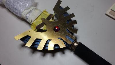 T様 金属刀身vevロトの剣 ラーミア部分