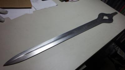M様 ファイアーエンブレム 神剣ファルシオン刀身