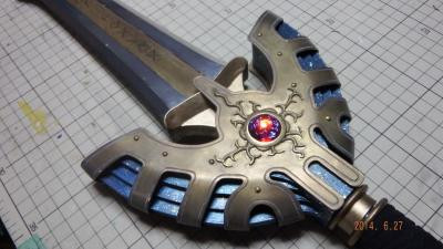 T様 金属刀身ver ロトの剣 制作過程