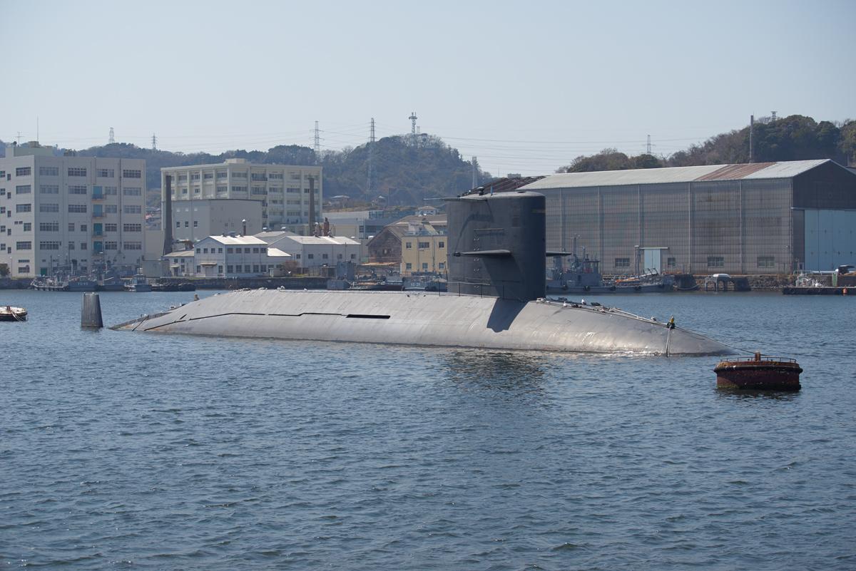 退役した海自の潜水艦