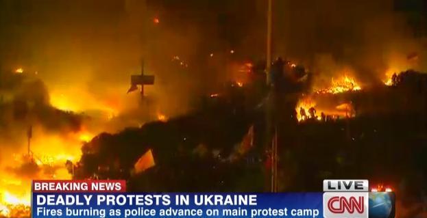 ウクライナ暴動