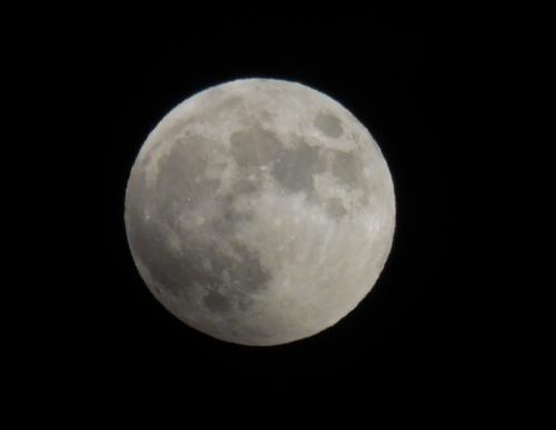 皆既月食2014-02