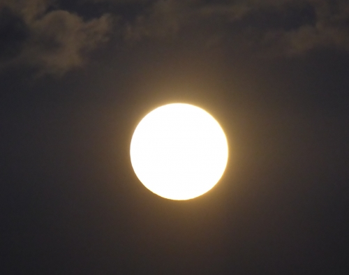 皆既月食2014-03