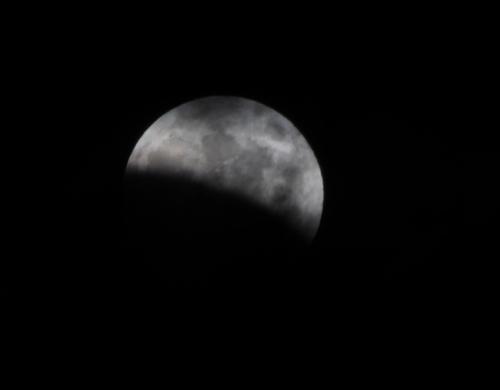 皆既月食2014-04