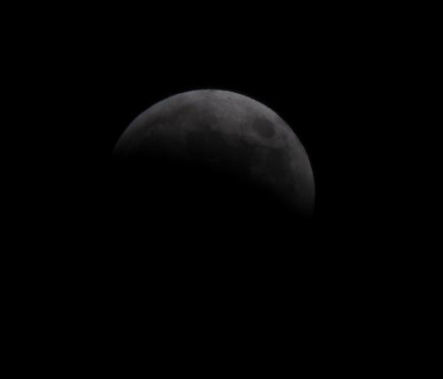 皆既月食2014-06