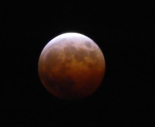 皆既月食2014-11