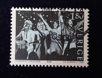 ABBA切手