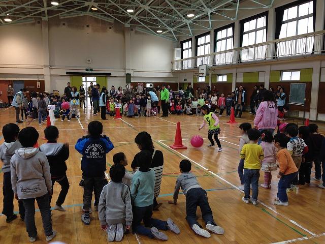 IMG_9679●バランスボール競争