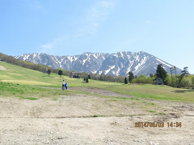 IMG_9331●スキー場から大山をみます
