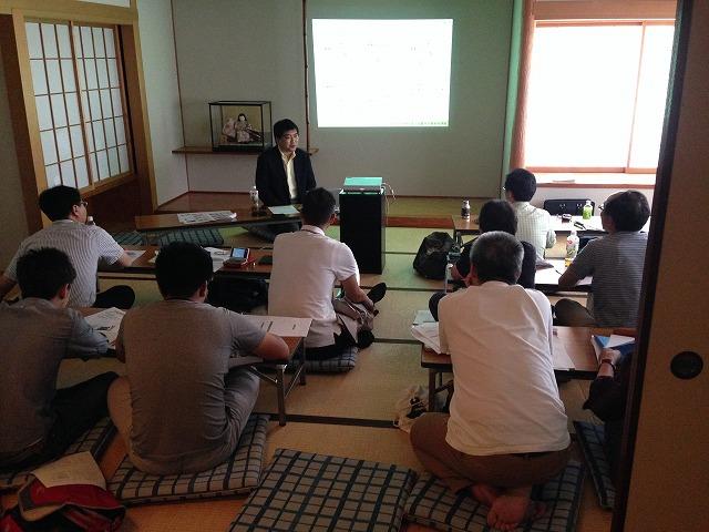 IMG_1421近畿水の塾総会能島さん講演