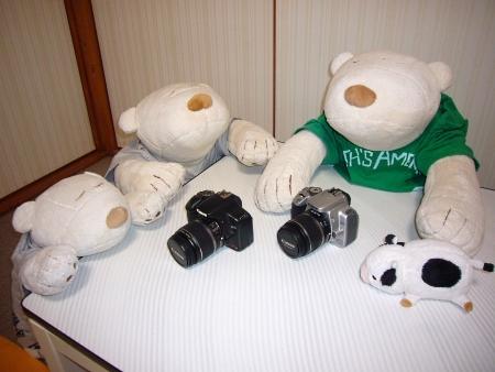 黒いカメラだ~!