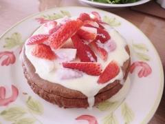 ダブルチョコレートチーズケーキ1