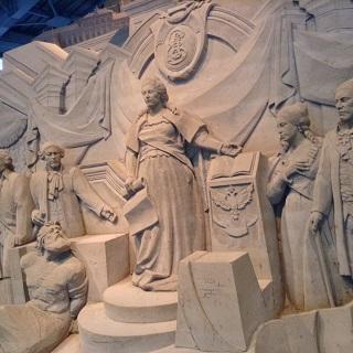 砂の美術館 エカチェリーナⅡ世