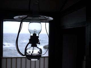 ランプの宿のランプ。