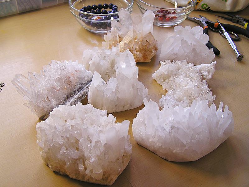 水晶クラスター1