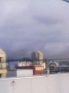 大雨警報 西宮 今津駅から六甲山系 140807_0606~001