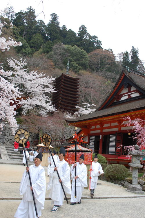 談山神社の神幸祭