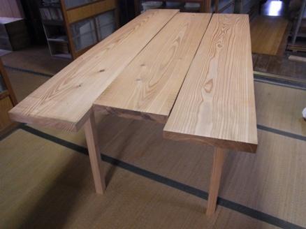 テーブル仮組2