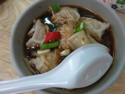 鮮蝦扁食湯